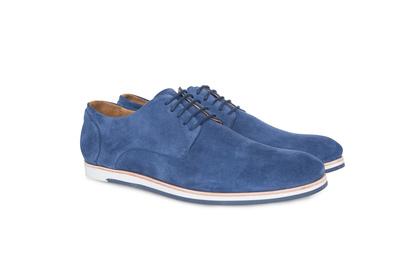 Pánská módní obuv jeans , barva modrá