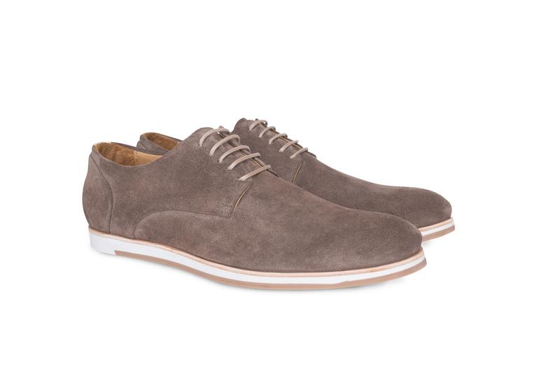 Pánská módní obuv jeans , barva béžová