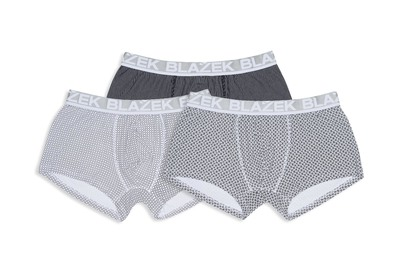 3pack-boxerky informal , barva černá, bílá
