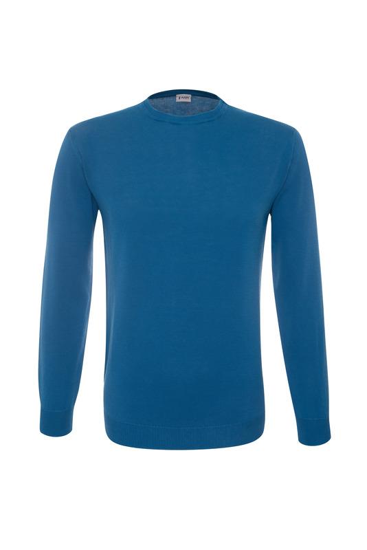 Pánský svetr casual , barva modrá