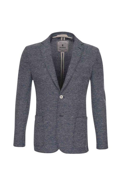 Pánské sako casual , barva šedá