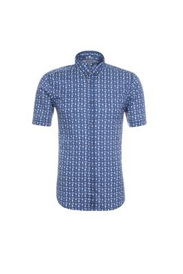 Pánská košile casual , barva modrá