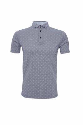 Pánské polo triko informal , barva šedá