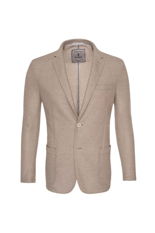 Pánské sako casual , barva béžová