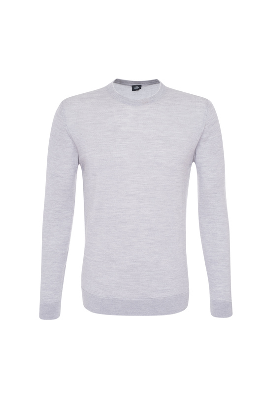 Pánský svetr informal , barva šedá