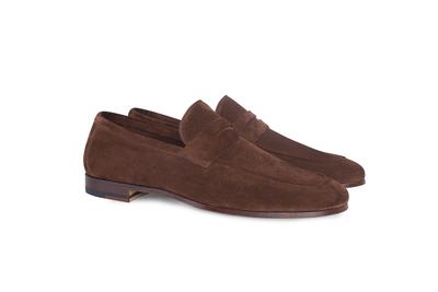Pánská módní obuv casual , barva hnědá