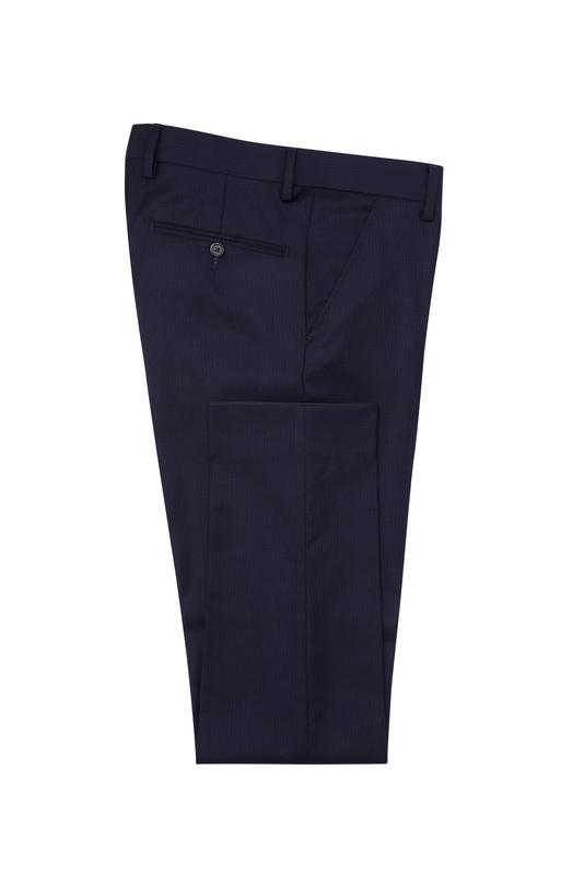 Pánské oblekové kalhoty formal , barva fialová