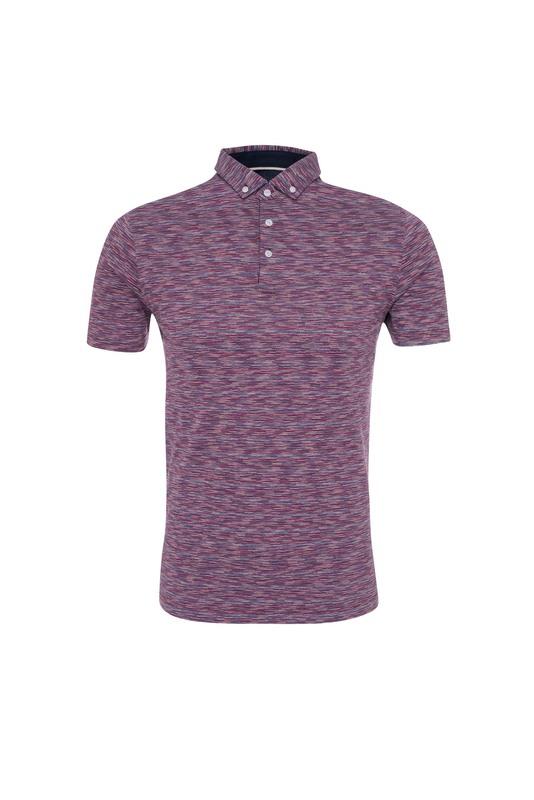 Pánské triko informal , barva červená