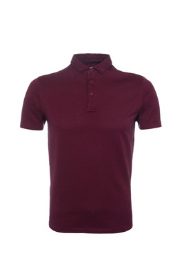 Pánské triko  , barva vínová