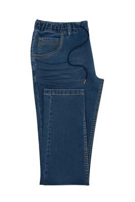 Pánské jeansy casual , barva modrá