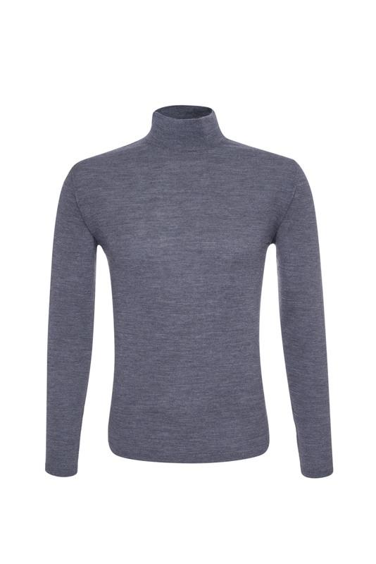 Pánský svetr  , barva šedá
