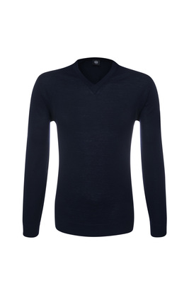 Pánský svetr  , barva modrá