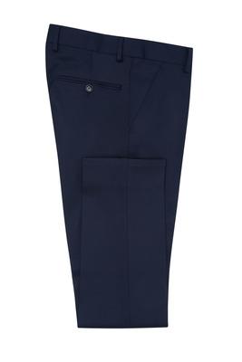 Pánské oblekové kalhoty  , barva modrá