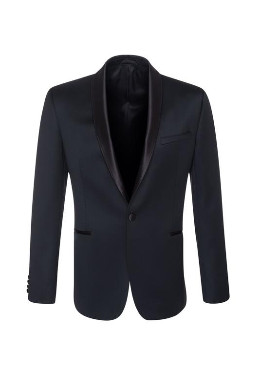 Pánské oblekové sako  , barva černá