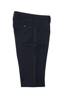 Pánské oblekové kalhoty  , barva černá