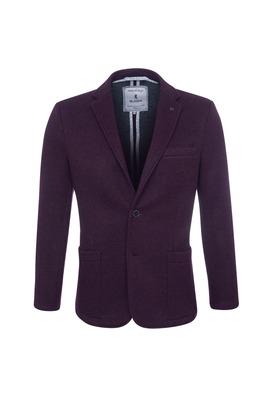 Pánské sako  , barva vínová