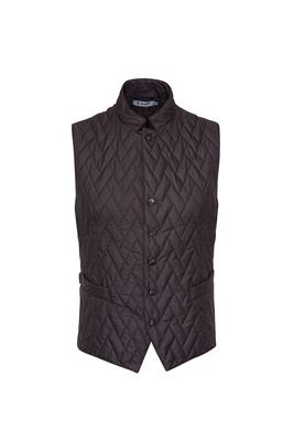 Pánská vesta  , barva hnědá