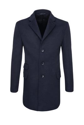 Pánský plášť  , barva modrá