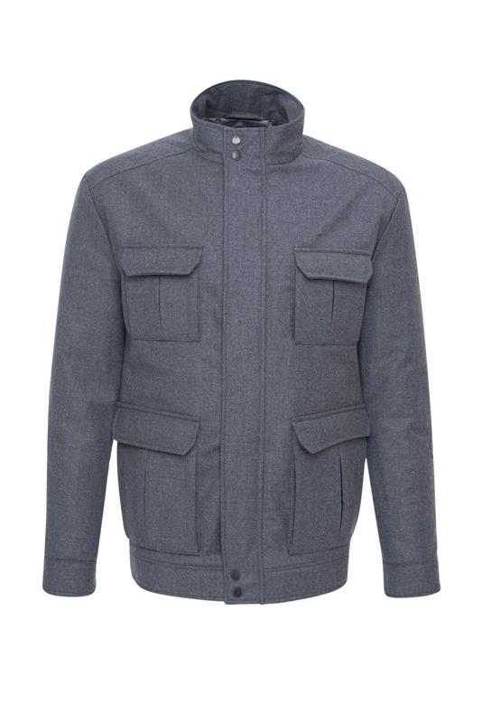 Pánská bunda  , barva šedá