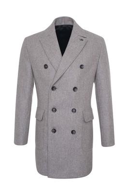 Pánský plášť  , barva hnědá