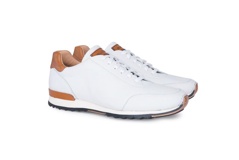 Pánská módní obuv  , barva hnědá