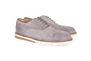 Pánská módní obuv  , barva šedá