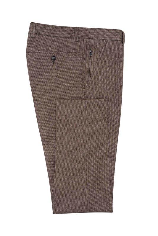 Pánské kalhoty  , barva hnědá
