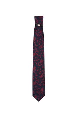 Kravata  , barva modrá, červená