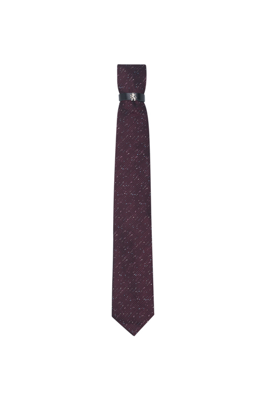 Kravata  , barva vínová