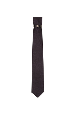 Kravata  , barva fialová