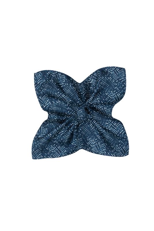 Kapesníček  , barva modrá