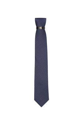 Kravata  , barva šedá, modrá