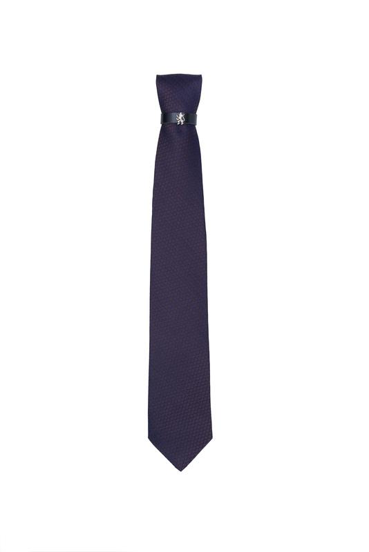 Kravata  , barva hnědá, modrá