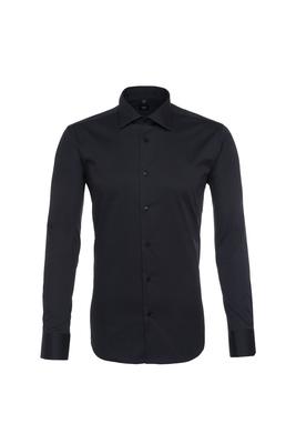 Pánská košile  , barva černá