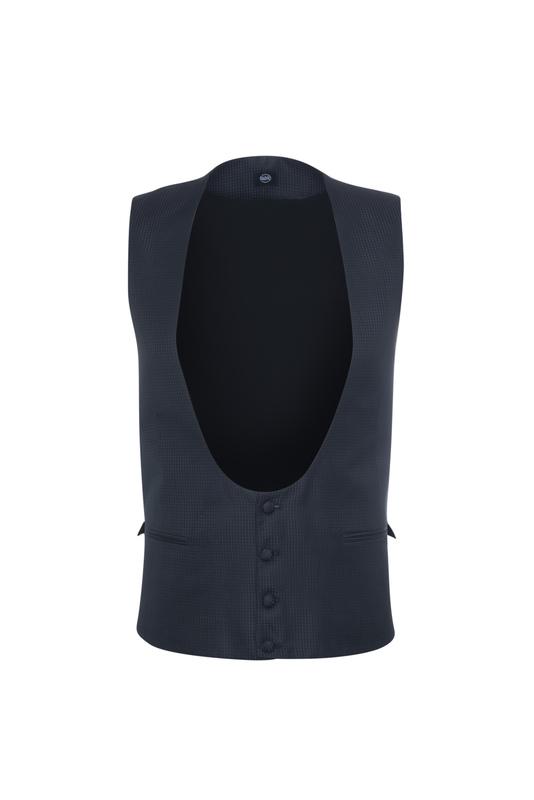 Pánská vesta  , barva černá