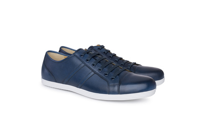 Obuv formal regular, barva modrá