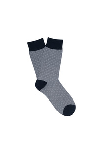 Ponožky informal regular, barva šedá, černá