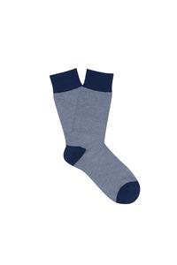 Ponožky informal regular, barva bílá, modrá