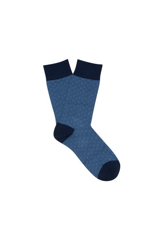 Ponožky informal regular, barva modrá