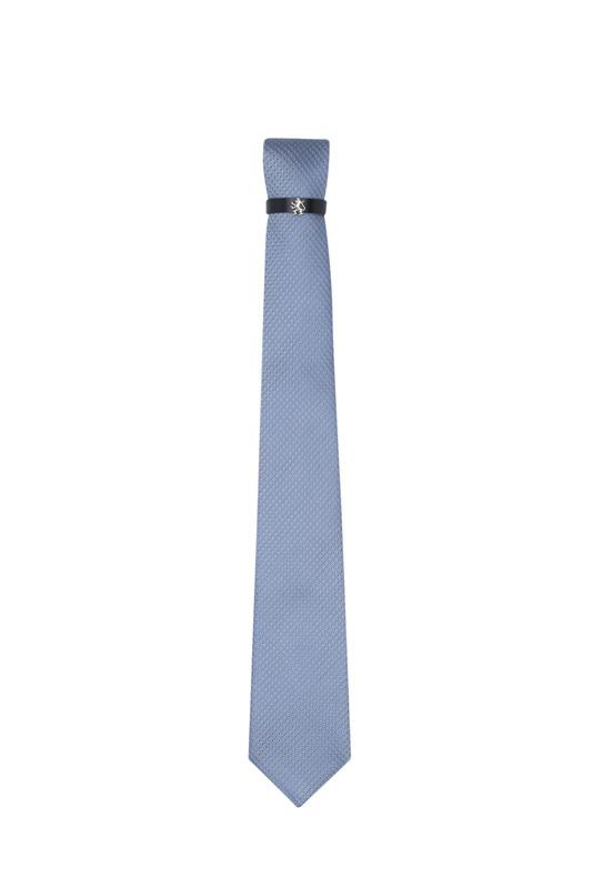 Kravata , barva modrá, béžová