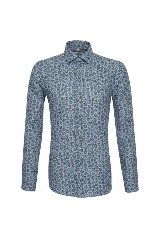 Košile , barva modrá