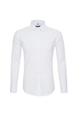 Košile casual slim, barva bílá