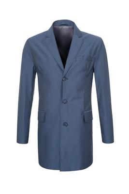 Plášť , barva modrá