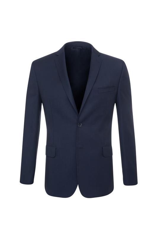 Oblekové sako ceremony slim, barva modrá