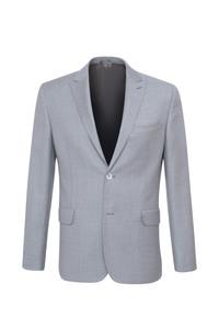 Oblekové sako ceremony slim, barva šedá