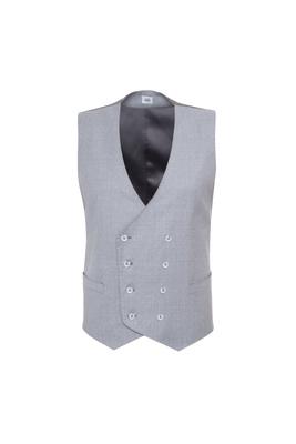 Obleková vesta , barva šedá
