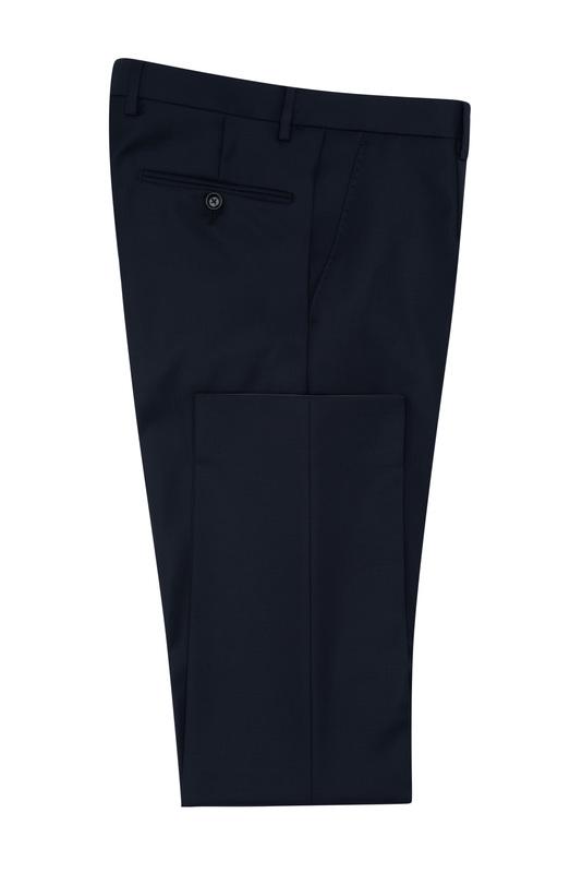Oblekové kalhoty essential sport, barva modrá