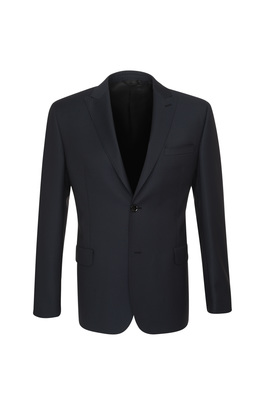 Oblekové sako ceremony slim, barva černá