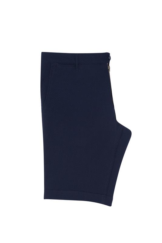 Krátké kalhoty casual extra slim, barva modrá