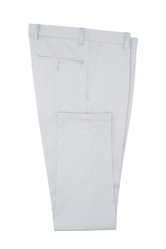 Kalhoty informal extra slim, barva šedá